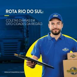 Rota Rio do Sul: coletas diárias em 8 cidades da região